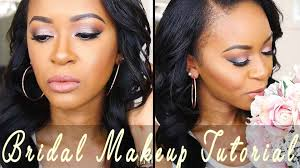 summer bridal makeup tutorial um dark skin fashionablyfayy