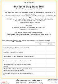 Fact or Opinion? KS2 Reading Test Practice | Classroom Secrets