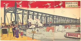 kiki ryland s history blog how the westerners aided in the  the azuma steel bridge