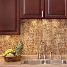 Kitchen Backsplash Panel Backsplash Ripple In Bermuda Bronze