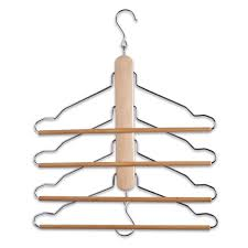 Magic Multi Dual Clothes Hanger Folding Hook Coat Rack Wardrobe Organizer UK