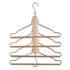 Zeller Clothes Hanger, Wood, Multi-Colour, 40 x 41 cm: Amazon.co.uk:  Kitchen & Home