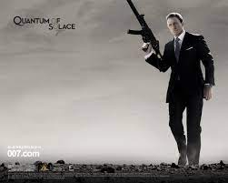 James Bond #007 Quantum of Solace movie ...