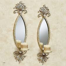 large wall sconce candle holder lovely mirror candle sconces for the wall vintage mirror wall with