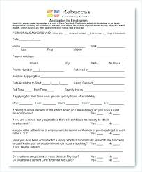 Emergency Form For Daycare Emergency Form Template