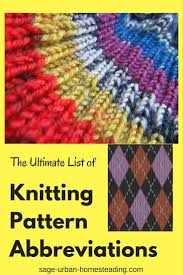 How To Read Knitting Patterns Unique Design Inspiration