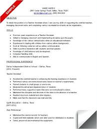 Early Childhood Assistant Resume Sample Teacher Assistant Resume