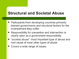 global strategy elder abuse  16 structural and societal abuse