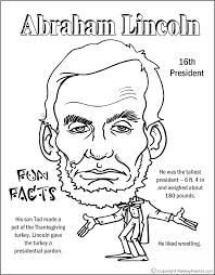 Small Picture Abraham Lincoln Coloring Page PRINTABLE HomeSchool Pinterest