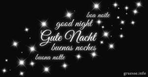 Gute Nacht Sprüche Bilder Sprüche Grüße Grüßeinfo