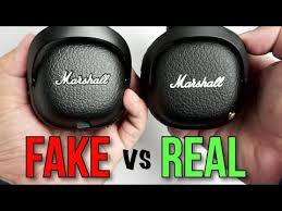 Fake vs Real <b>Marshall Mid Bluetooth</b> Headphones - How to spot a ...