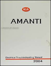 kia amanti wiring diagram kia wiring diagrams 2004 kia amanti electrical troubleshooting manual original