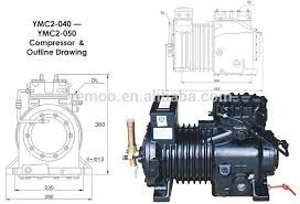 types of refrigeration compressors. yemoo 4 hp copeland semi-hermetic open type used refrigeration screw rotary compressor types of compressors c