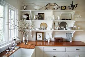 4092012 white country kitchen with butcher block68 country