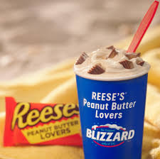 Dairy Queen Blizzard Nutrition Chart Dairy Queen Introduces Reeses Chocolate Lovers And Peanut