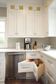 corner kitchen furniture. Smart Corner Drawers Are A Must In The L-shaped Kitchen [Design: Hierarchy Furniture