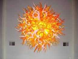 Einfaches Design Moderne Kunst Wohnkultur Glas Kronleuchter Graceful Mundgeblasenem Glas Kristall Led Kronleuchter Für Esszimmer Dekor