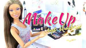 diy how to make doll make up eye shadow handmade crafts beauty beauty