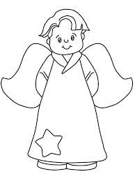 Small Picture Angel Coloring Pages For Toddlers Coloring Coloring Pages