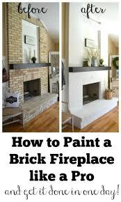 what color to paint brick fireplace unique brick fireplace makeover how to refinish brick fireplace junsaus photograph