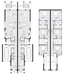 Duplex Designs For Narrow Blocks New Home Builders Lennox 48 Duplex Storey Home Designs
