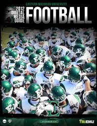 Eastern Michigan University Game Design 2012 Emu Football Media Guide By Eastern Michigan University