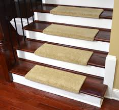 carpet stair treads. dean premium pet friendly tape and adhesive free non-slip bullnose nylon carpet stair treads