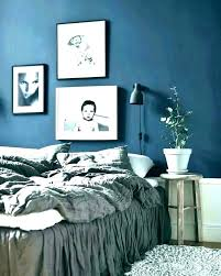 Blue White Bedroom Decorating Ideas Modern Navy Color Scheme And ...