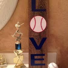 baseball wooden signs love baseball ceramic tile baseball wooden sign wooden look ceramic tile sign baseball baseball wooden