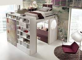 having a set of built in bunk beds in a small room gives you the opportunity to include draws and hanging space and at the same time more floor space