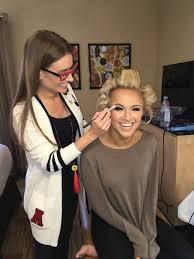 meredith boyd applies makeup to savvy shields miss america 2017 photo matt boyd photography