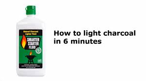 how to light charcoal in 6 minutes