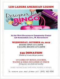 Designer Bingo Daubers West Haverstraw Designer Bag Bingo