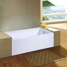 nova alcove in acrylic bathtub with right hand drain n a 60 x 30 tub
