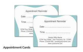 Doctor Appointment Card Template Appointment Cards Magdalene Project Org