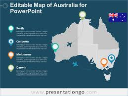 free editable maps free map of australia for powerpoint manway me