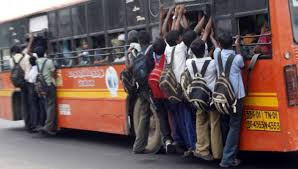 Image result for MTC bus chennai crowded