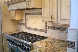 Imposing Simple Backsplash Designs Behind Stove Kitchen Backsplash