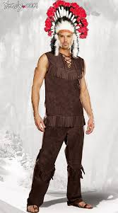 chief long arrow costume mens indian costume
