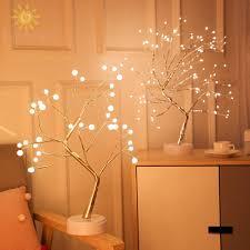 Đèn Led Để Bàn Hình Cây Trang Trí Phòng Ngủ - Đèn bàn