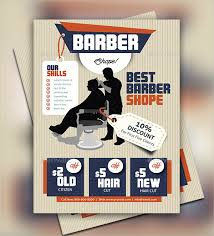 barber flyer 27 barbershop flyer templates free premium download