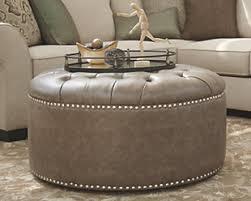 oversized leather ottoman. Fine Leather Large Wilcot Oversized Ottoman  Rollover For Leather Ottoman O