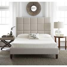 Sleep Sync Quincy Upholstered Linen Platform Bed  Free Shipping Linen Platform Bed