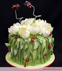 Small Picture cake basket whith flowers garden cakes Pinterest Cake basket
