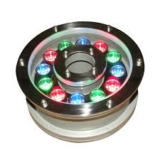 Us 32 49 30 Off Ip68 Led Fountain Light 6 12 18w Led Pool Light Ac Dc12 24v Underwater Rgb Submersible Lamp Garden Swimming Pond Decor In Led