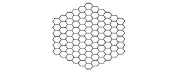 ... Small hexagon ...