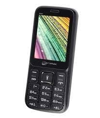 Micromax X267 Black Feature Phone
