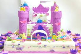 Little Girl Castle Birthday Cake Cakes For Girls Awesome Wonderful