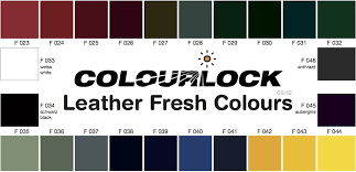 Free Colour Chart Colourlock Leather Dye And Repair