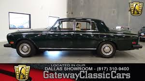Rolls Royce Silver Shadow Dfw Gateway Classic Cars Of